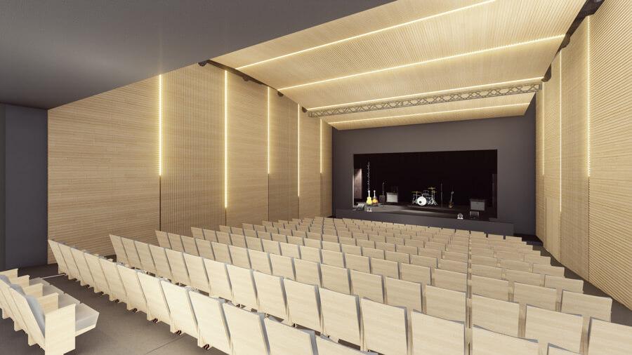 Diseño de los nuevos espacios de la Casa de la Cultura de Benalmádena