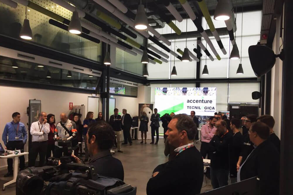 Inauguración de Auditorio para empresa Accenture en PTA